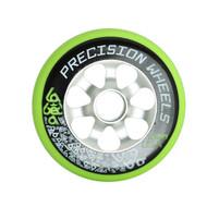 Labeda Scooter Wheel 110mm Precision Aluminum Core Green
