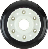 Labeda Race Wheel 90mm 86A Black