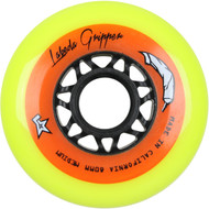 Labeda Hockey Wheel Gripper Medium 83A Yellow 80mm