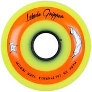 Labeda Hockey Wheel Gripper Medium 83A Yellow 72mm
