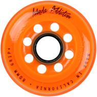 Labeda Hockey Wheel Addiction Grip+ Orange 80mm