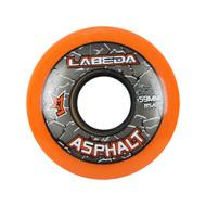 Labeda Hockey Wheel Asphalt Gripper 85A Orange 59mm