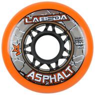 Labeda Hockey Wheel Asphalt Gripper 85A Orange 76mm