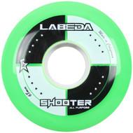 Labeda Hockey Wheel Shooter All Purpose Green 68mm