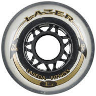 Labeda Fitness Wheel Lazer 82A Clear 76mm