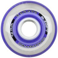 Labeda Hockey Wheel Millennium Gripper X-Soft Purple 72mm