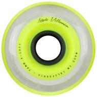Labeda Hockey Wheel Millennium Gripper X-Soft Yellow 76mm