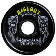 Bigfoot Wheel - 76mm 80a Mountain Cruisers Black