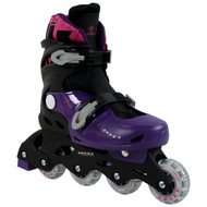 Krown Superspeed Adjustable Inline Skates Girls Size L (6 - 9)