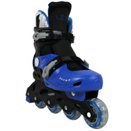 Krown Superspeed Adjustable Inline Skates Boys Size M (3.5 - 6)