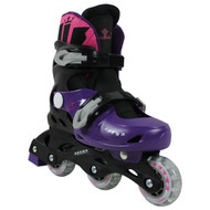 Krown Superspeed Adjustable Inline Skates Girls Size S (Y13 - 3)