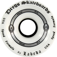 Dregs 66mm Labeda Race Wheel White