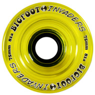 Bigfoot Wheel - 75mm 81a Invaders Yellow