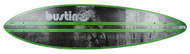 "Bustin Boards Longboard Deck Fire & Water 38 Pintail 9"" x 38"" Skateboard"