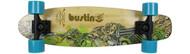 "Bustin Boards Cruiser Complete Fire & Water 29 7.5"" x 29"" Skateboard"