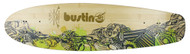 "Bustin Boards Cruiser Deck Fire & Water 29 7.5"" x 29"" Skateboard"