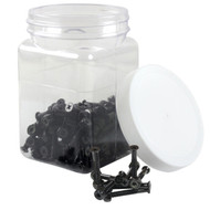 "Dime Bag Hardware - 100pcs 1 1/2"" Phillips Black Loosies"
