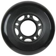 Inline Wheel 68mm x 24mm Black