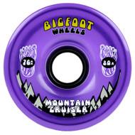Bigfoot Wheel - 76mm 80a Mountain Cruisers Translucent Purple