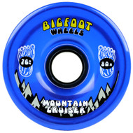 Bigfoot Wheel - 76mm 80a Mountain Cruisers Translucent Blue