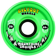 Bigfoot Wheel - 76mm 80a Mountain Cruisers Translucent Green