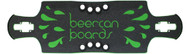"""Beercan Boards - 35"""" Oat Soda Drop Through Gas Pedal Deck Green"""