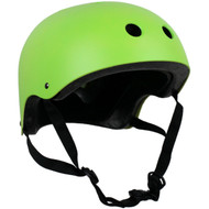 Krown Adult Solid Helmet OSFA Neon Green