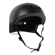Krown Youth Solid Helmet Black