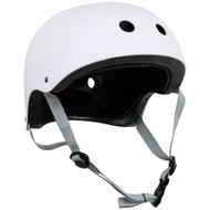 Krown Adult Solid Helmet OSFA White