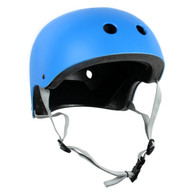 Krown Adult Solid Helmet OSFA Cyan Blue