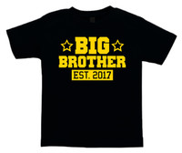 Big Brother est year sibling tshirt