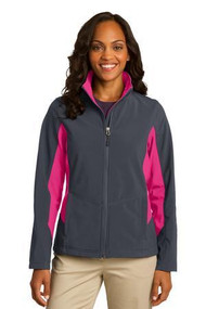 Port Authority Ladies Core Colorblock Soft Shell Jacke