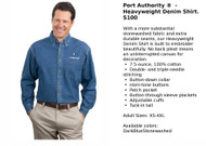Port Authority Denim Shirt