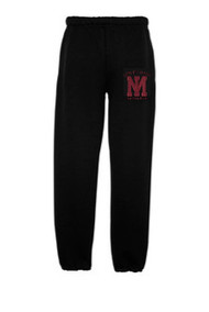 MIG-4850P-Elastic Cuff 2017 Girls Swim Sweatpants