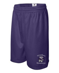 WPTO-2207 Mesh Youth 6'' Inseam Shorts