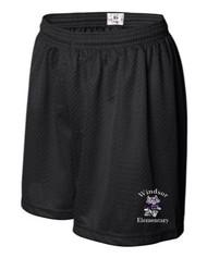 WPTO-7216 Ladies 5'' Mesh Inseam Shorts