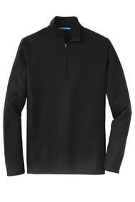 Adult Pinpoint Mesh 1/2-Zip