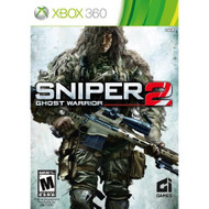 Sniper: Ghost Warrior 2 For Xbox 360 Shooter With Manual And Case - EE672898