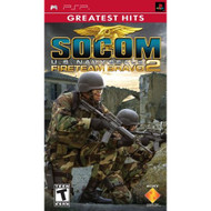Socom US Navy Seals Fireteam Bravo 2 For PSP UMD Shooter With Manual - EE673015
