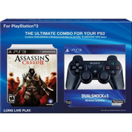 Assassin's Creed 2 With Dualshock 3 Bundle Black PlayStation 3 - ZZ673204