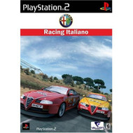 Alfa Romeo Racing Italiano For PlayStation 2 PS2 With Manual And Case - EE674690