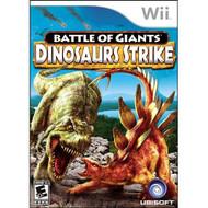 Battle Of Giants Dinosaur Strike For Wii - EE674806