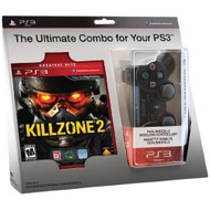 Killzone 2 And Black Dualshock 3 Wireless Controller Bundle - ZZ675465