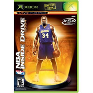 NBA Inside Drive 2004 Xbox For Xbox Original Basketball With Manual - EE675530