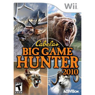 Cabela's Big Game Hunter 2010 Game Only For Wii Shooter With Manual - EE675936