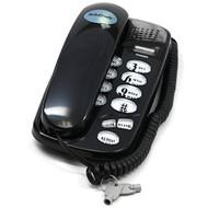 Telecraft Wall Mountable Trim Phone-Black Consumer Electronics - EE676091