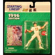 1996 Steve Bono NFL Starting Lineup Figure Toy Football - EE676705