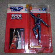 1996 Hakeem Olajuwon NBA Starting Lineup Toy Basketball - EE676706