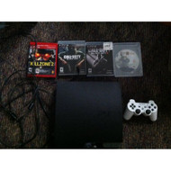 Sony PS3 250 GB Slim Black Ops 1 And 2 Killzone 2 God Of War 3 - ZZ676944