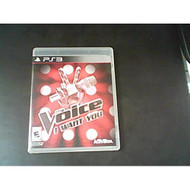 The Voice I Want You Game Only For PlayStation 3 PS3 Music - EE676961